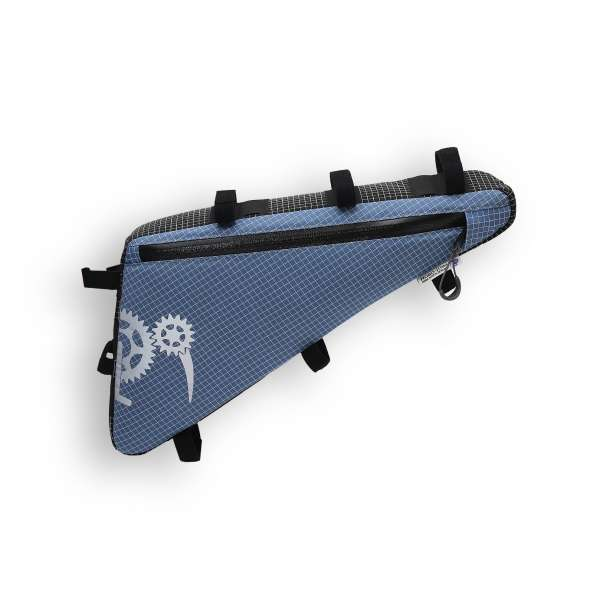 ROBO-KIWI Bikepacking Frame Bags - Triangulator DGS - single, slate blue (3)